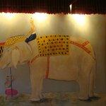 Decoração - Painel Elefante