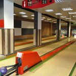 Bowling Alley - In the hotel!