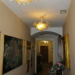 the entry hall