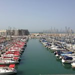 Marina view from breakfast