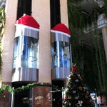 Новогодние лифты
