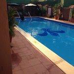 Clean 5 feet pool