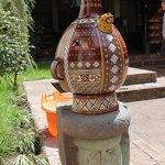 Réplica de peça cerâmica