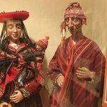 Representação dos incas da região de Cusco