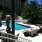 Deserted spa pool