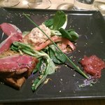 Escalope de foie gras poeler