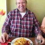 Reinhard gets his lunch