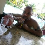 @ pool side bar sweet and feeling nice