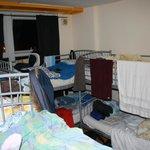 8 dorm room
