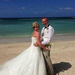 we got married on the beach stunning!!