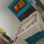 Habitacion Doble Estandar con decoracion para Luna de Mie