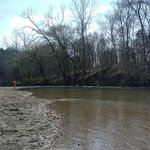 River by picnic area