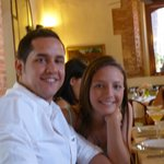 Surprise Engagement at sister's graduation party at La Briciola