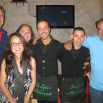 With our Waiters Alessandro and Emanuele