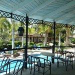 Villas et bar piscine