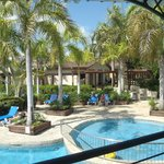 Villas et piscine