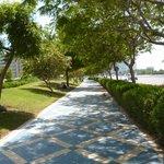 Un sentier de promenade
