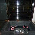 Sunken bath