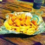Fried Shrimps & Chips