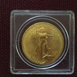 His famous $20 Gold piece minted from 1907-1933