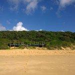 Sundeck from Beach