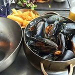 Moules Mariniere - very good