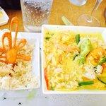 Shrimps in Creamy Creole Sauce
