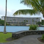 View of Hotel from Coconut Island