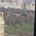 Amazing view of Central Park from our room