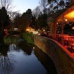 restaurant terrace - evening