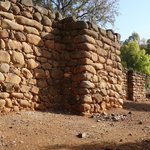 Israelite wall from King Jeroboam's time