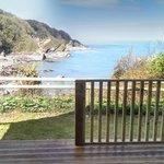 View from Safari Tent balcony