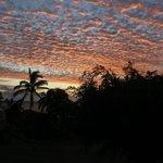 Beautiful evening clouds