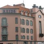 The front of Reid's Hotel