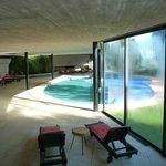 Das Innen- und Außenschwimmbad