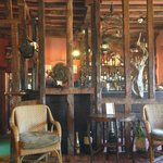 A partial view of the bar area