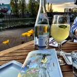 Refreshing lemonade aperitif, made with Creme d'Alsace