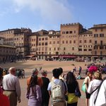 Campo square in Siena
