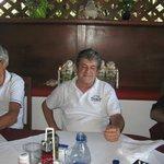 Marco, one of the proprietors at El Sueno