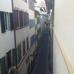 View from bedroom in direction to Santo Spirito