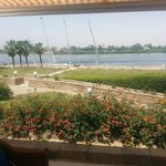 Beautiful Nile River view from the restaurant