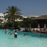 Largest pool suitable and safe for tiny tots and adults