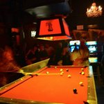 R Bar Pool Table