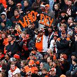Cincinnati Bengals at Paul Brown Stadium. Photo by The Enquirer/Gary Landers.