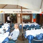 Entance of Filha da Mãe Preta Restaurant in O Porto
