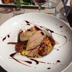 Tagliatelle foie gras morilles et magret