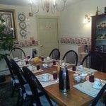 The breakfast room..very nice!