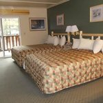 Renovated room at Seward Windsong Lodge