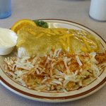 Massive Breakfast Burrito...