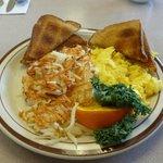 2-Egg Breakfast $5.95...